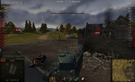 JagdPanzer IV send his greetings to WG, since now there is something even he can penetrate.