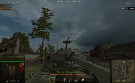 You can shoot here if you want to penetrate IS-7 from the front, but wont be making any damage thou.
