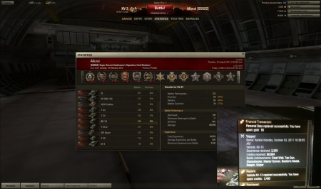 KV-13 top game - 11 kills