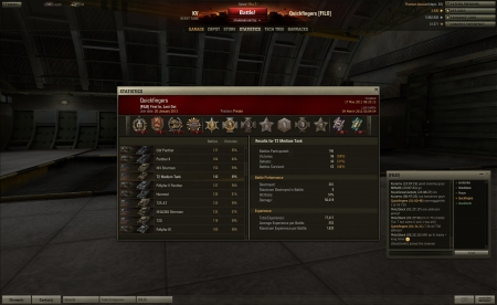 1633 exp in a T2 medium tank by Quickfingers