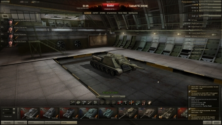 Victory! Battle: Himmelsdorf den 26 mars 2012 19:34:25 Vehicle: SU-85 Experience received: 1554 Credits received: 34200 Battle Achievements: Top Gun, Reaper