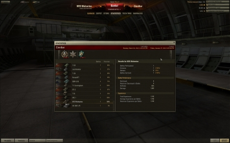 My first game ever in a Wolvie (stats screenshot for proof) : Top Gun!