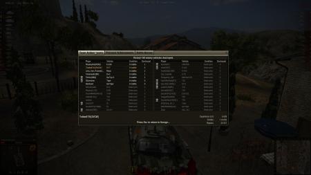 Victory! Battle: Province den 3 maj 2012 19:36:47 Vehicle: IS-7 Experience received: 6609 (x3 for the first victory each day) Credits received: 110655 Battle Achievements: Reaper, Top Gun