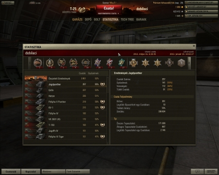 My xp record with a Jagdpanther
