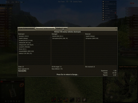 KV-2 with 152mm as a top tier - standard account