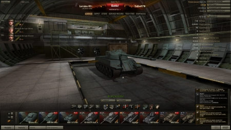 Victory! Battle: Redshire den 6 augusti 2012 16:22:10 Vehicle: Lorraine 40 t Experience received: 5997 (x3 for the first victory each day) Credits received: 77532 Battle Achievements: Confederate