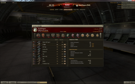 Fairly standard game in T110E4