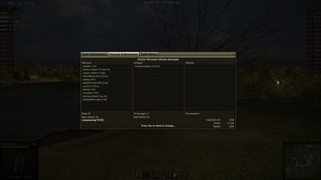 5,034 exp doubled (for 2,517 base).  Also 11 kills battle.