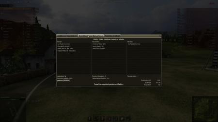 Voitto! Taistelu: Westfield 12. syyskuuta 2012 14:39:06 Vaunu: Type 62 Kokemusta saatu: 3 648 (x2 päivän ensimmäisestä voitetusta taistelusta) Krediittejä saatu: 68 199 Taistelusaavutukset: Hyökkääjä, Taitomerkki: