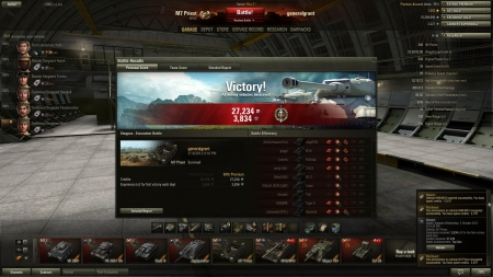 M7 Priest - Top Gun with Tier 8s