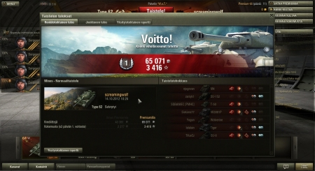 My top Type62 score