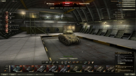 Victory! Battle: Fjords den 14 oktober 2012 11:17:39 Vehicle: M4 Sherman Experience received: 3 966 (x2 for the first victory each day) Credits received: 40 695 Battle Achievements: Radley-Walters's medal, Steel Wall, Top Gun, Defender, Mastery Badge: