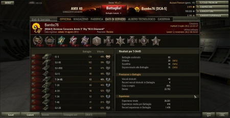 My high score with T-34-85