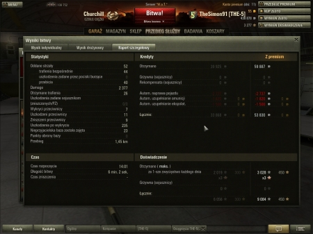Highscore with Churchill (premium acc)
