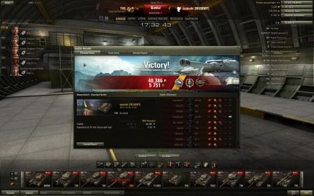 Radley-Walter's Medal, Top Gun (9 kills), Sniper. WoT v0.8.0