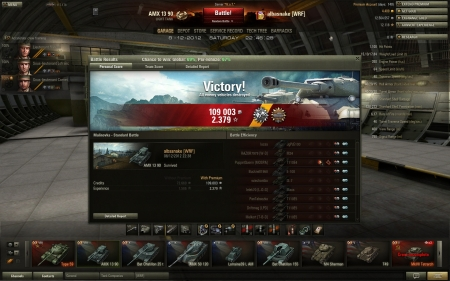 WG must block access to AMX light tanks on map Malinovka, total ownage
