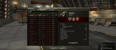First fight with Stock Tank.