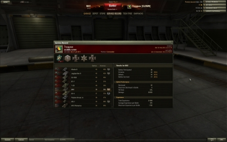 One of my better battles in the M41 artillery.