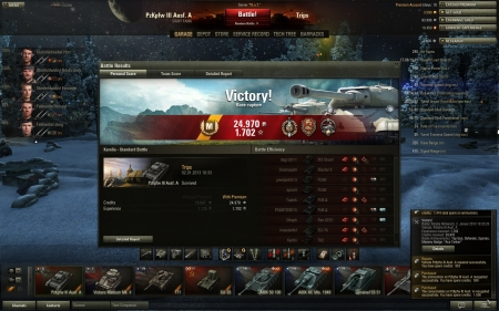 Top Score with Pz3A, a bunch of medals and just simply a good round by me :)