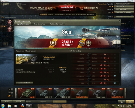 Perfect match with Pz38H735: