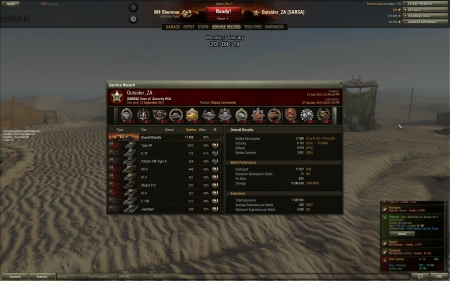 M4 Sherman Battle - Top Score