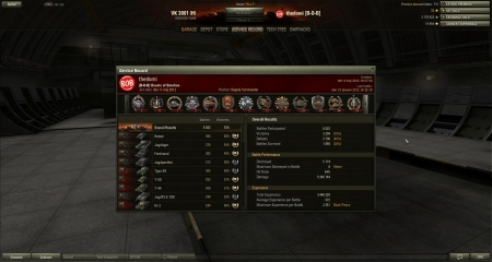 """""""Just grind my BP and told my platoon @ 3 kills. -well im in a mood for a topgun. (2013-01-15 19:35:45) Victory! Battle: El Halluf den 15 januari 2013 19:22:33 Vehicle: Black Prince Experience received: 4 502 (x2 for the first victory each day) Credits received: 55 917 Battle Achievements: Steel Wall, Top Gun, Mastery Badge:"""