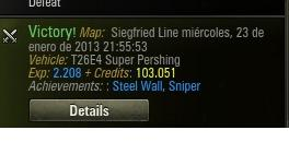 Steel Wall, Sniper. 3169 damage