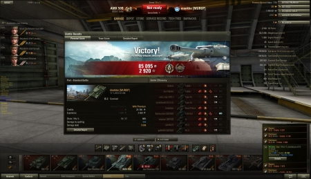 Nice round with IS-2. 7 kills and 5k dmg