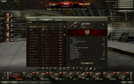 Nice game with T32