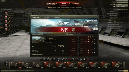 scout + 4 kills  2335 damage 1382 damage upon spotting  a sniper ELC AMX was helping a lot :)
