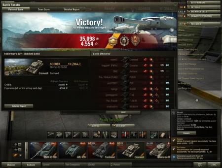 2478 exp if i had premium... :( 10 kills, defender