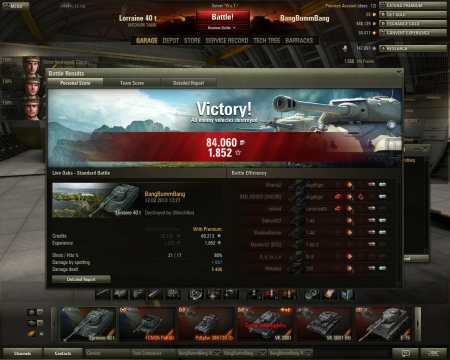 in the end (when already 'won') it was me vs last jagdtiger in close combat. i only needed 2 more sec to reload. 100% safe situation. guess what happend? -->our arty killed me! guess it would have been my new highscore :-(