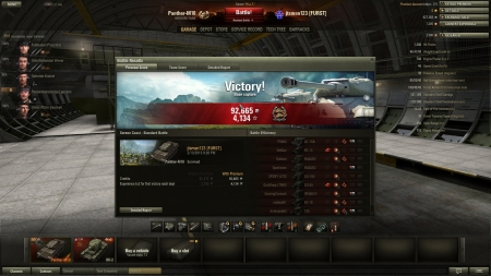 Best game so far, not a bad tank.
