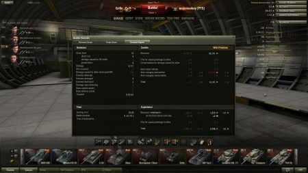 Grille Highscore - 5171 damage.