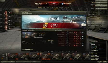 3491 dmg, 2279 spot, 3 cap, 5 enemy vechiles destroyed.