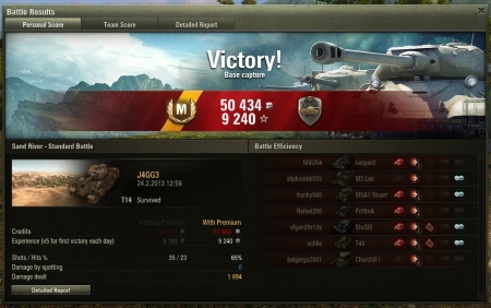 Victory! Map:  Sand River 24. helmikuuta 2013 12:59:25