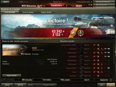 I killed 12 tanks with M-10 on Sand River. I ended with no ammo left as I was aiming for the 13th ennemy.