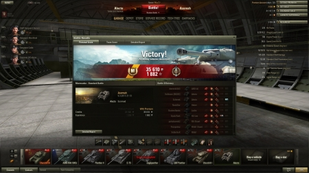 My best match so far in Alecto.