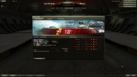 Lame ace tanker. Some terrible play after a long hiatus.