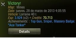 Top Gun, Sniper, Ace