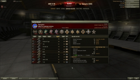 IS-8 record from my roster