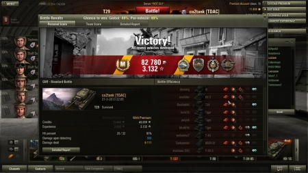 T29 heavy carry, ace tanker