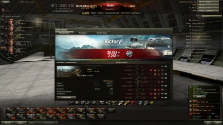 m24 chaffee, 2202xp, patrol Duty. Easy mode