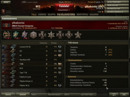 ONJ1 Clan Commander, Finland