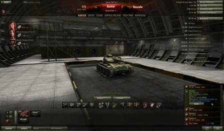 Victory!Map:  WestfieldDate: 2. aprill 2013. a. 19:09:51Vehicle: T71Exp: 3 570 + Credits: 90 972  Achievements: : Radley-Walters's Medal, Top Gun, Mastery Badge: