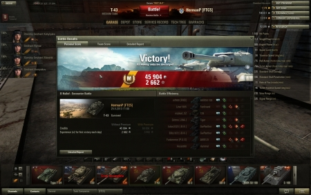 My best game with T-43 so far