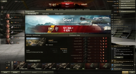 A very good round when being the only arty