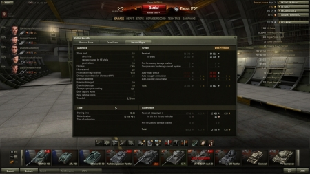 10 kills, of which 6 when at 3hp myself :) Also, first victory of the day on WoT anniversary day (x5 victory and x2 crew on IX)!