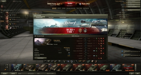 Decent battle with M48 patton. Epic last 4minutes.