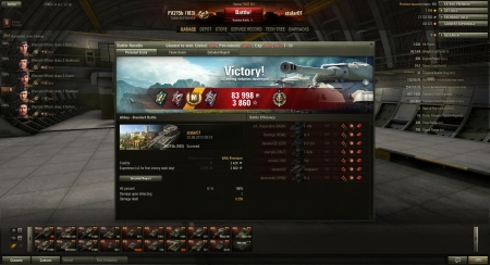 God round with the beast. over 9000 dmg and 7 kill.